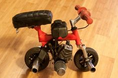 Mini Chopper, Bobber Style, Pocket Bike, Drift Trike, Motorized Bicycle, Baggers, Old Bikes, Pedal Cars, Small Engine