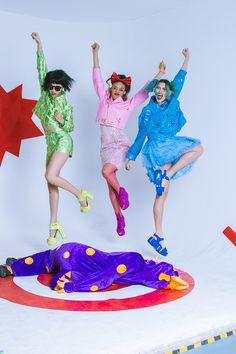 LADYGUNN IMG_7896 Little Girl Lost, Psychedelic Fashion, Candy Pop, Cool Magazine, Girls Rules, Style Snaps, Powerpuff Girls, Alternative Fashion, Editorial Fashion
