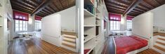 Small Apartment / Hidden Bed Design by POINT Architecture