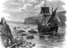 September 2, 1609: Henry Hudson begins his journey of exploration up the Hudson aboard the Halve Maen (Half Moon).