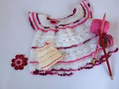 vestido Baby Kids, Crop Tops, Knitting, Women, Fashion, Tricot, Vestidos, Moda, Breien