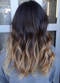 ombre hair tumblr black - Google Search