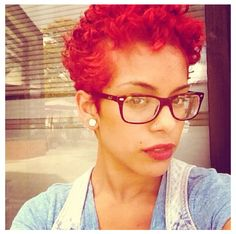 #red #curls
