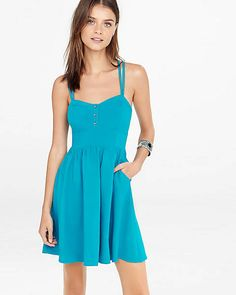 Strappy Cami Sundress | Express