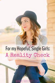 bethanymoss - For my Hopeful, Single Girls: A Reality Check