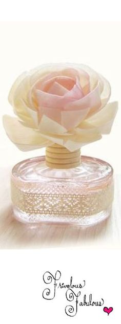 Frivolous Fabulous - Beautiful Rose Perfume Bottle