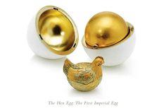 Z okazji śnieżnej Wielkanocy zabieramy Was do carskiej Rosji, gdzie na dworze Romanowów w pracowni Carla Faberge powstawały nabardziej efektowne jajka z niespodzianką w historii sztuki jubilerskiej. Na naszym blogu mozecie zobaczyć całą galerię tych cudeniek. Alleluja!   http://soperlage.com/wielkanoc-na-dworze-romanowow/