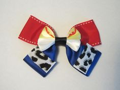 Jessie Hair Bow Toy Story Disney Inspired by bulldogsenior08, $9.00