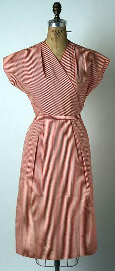 Claire McCardell, 1943, cotton