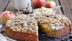 Mal wieder Vollkorn: Kürbis-Apfel-Streuselkuchen