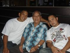 Dad, Jae & Joe