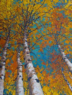 PAUL  PAQUETTE - Through the Branches To The Sky