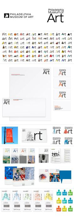 Philadelphia Museum of Art branding Museum Identity, Museum Branding, City Branding, Logo Branding, Logos, Typo Design, Design Poster, Brand Identity Design, Cd Design