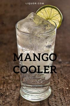The Mango Cooler is a spring and summer cocktail that's simple and easy to make. This vodka cocktail is a modern classic, that's perfect for any celebration or happy hour. Wine Cocktails, Easy Cocktails, Classic Cocktails, Cocktail Drinks, Summer Drinks, Fun Drinks, Alcoholic Drinks, Beverages, Vodka Recipes