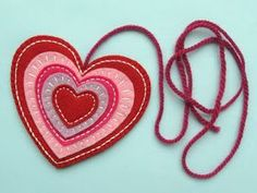 Sew an embroidered heart ornament with this free craft tutorial.