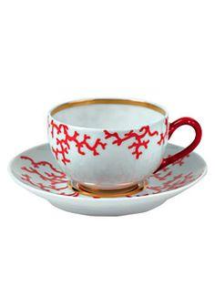 Raynaud - Cristobal Coral Tea Cup