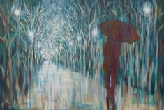 Umbrella Paintings For Sale | Walk With Me | StateoftheART