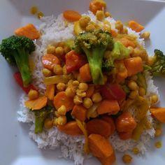 fettarmes curry