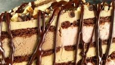 Neapolitan Ice Cream Sandwich Cake Recipe | The Chew - ABC.com