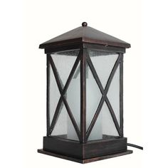 Outdoor Solar Lights Lowes Amazing 2Pack Oilrubbed Bronze Solarpowered Led Deck Lights  Lowes Inspiration Design