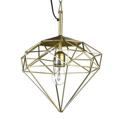 Diamond lamp S brass sold by pols potten, http://vps18379.public.cloudvps.com.