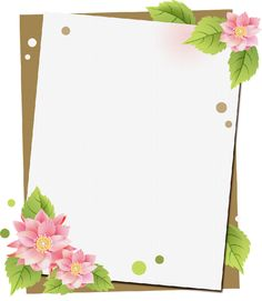 ¡ Llegó la Primavera ! Marcos ilustraciones Primavera | dibujos infantiles