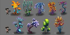 planetary annihilation vegetation - Google Search