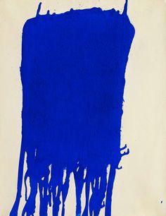 Blue, Yves Klein 1960