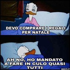 Devo comprare i regali per Natale Christmas Mood, Have Some Fun, Smiley, Haha, Life Quotes, Funny Memes, Family Guy, Cartoon, Fictional Characters