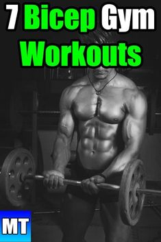 7 Bicep Workouts to do at the Gym for Size : Bicep Workout for Men Gym Muscle Exercise for Beginners Going into the gym without a plan is a bad idea. These fundamental workouts are a great start. Here are 7 Bicep Workouts to Do at The Gym: Mens Bicep Workout, Bicep Gym, Big Biceps Workout, Workout Men, Cycling Workout, Best Biceps, Biceps And Triceps, Back And Biceps, Fitness Tips For Men