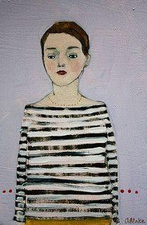 luciana | par amanda blake art