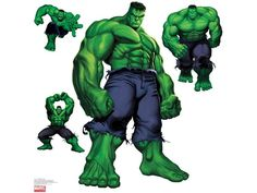 #Hulk #Clip #Art. (4 Hulks take your pic) ÅWESOMENESS!!!™ ÅÅÅ+