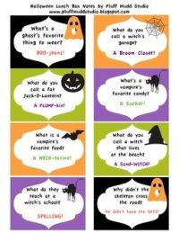 Halloween Lunchbox Jokes