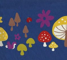 toadstool Japanese fabric