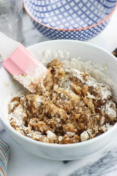 Learn how to make crumb topping with this easy, four-ingredient recipe. These crumb cake crumbs aren't just for crumb cake - they make a perfect topping for all kinds of quick breads, cakes, and fruit desserts. Top with powdered sugar for a classic touch. Crumb Cake Topping Recipe, Oatmeal Crumble Topping, Berry Crumble, Easy French Macaron Recipe, Dinner Party Desserts, Fall Desserts, Delicious Desserts, Dessert Recipes, Cake Recipes