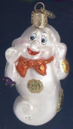 Old-World-Christmas-PATCHES-THE-GHOST-Halloween-Glass-Ornament