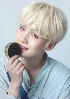 슈가♥ VT Cosmetics X BTS Photocard
