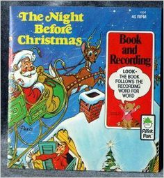 THE NIGHT BEFORE CHRISTMAS Book and Record (Barney the Book Bear) by Peter Pan http://www.amazon.com/dp/B003DRHF82/ref=cm_sw_r_pi_dp_gc4Qtb1V22T345R3