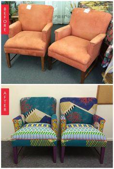 Upholstery inspiration.