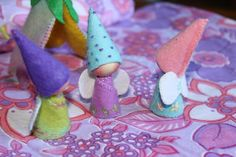 Homemade Happy Fairies #diy #crafts