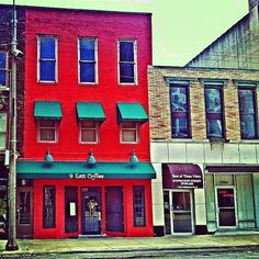 9 East Coffee Shop, Freeport IL - @frankyboy1- #webstagram