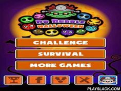 Doctor Bubble Halloween  Android Game - playslack.com , Doctor Bubble: Halloween - a continuance of a well- known game in Halloween style. Here microorganisms are used instead of globules. You need to clear a tract, for this goal you need to ruin microorganisms having gathered  them on three in a line. In the game you will be supported  by bonuses, which will come to aid you when the levels become too difficult.