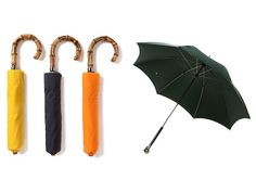 8 Cool Men's Umbrellas To Keep The Rain Away - http://www.dmarge.com/2014/05/cool-umbrellas-for-men.html