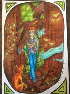 A Book in the Dark by Godsgirl4444 on DeviantArt