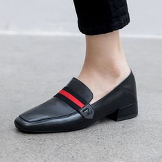Chiko Whisper Square Toe Block Heels Loafer For other models, you can visit the category. Pointed Toe Block Heel, Block Heel Loafers, Heeled Loafers, Shoes Heels Wedges, Toe Shoes, Low Heels, Loafer Shoes, Flats, Brogues