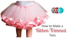 Learn how to embellish a tutu with ribbon! So cute! Don't forget to check out our SPECIALS! http://www.theribbonretreat.com/custom/specials.aspx Links to sup...