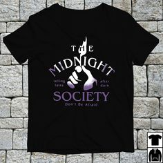 b719a829d The midnight telling tales after dark society don't be afraid shirt, hoodie