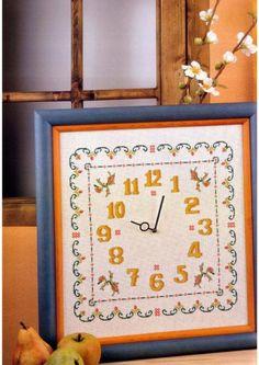 Gallery.ru / Фото #39 - 3 - Chispitas Cross Stitch Baby, Cross Stitch Patterns, Rubrics, Views Album, Clock, Embroidery, Frame, Diy, Yandex