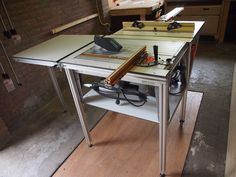 DIY saw / router table with CS70, Incra miter and Incra LS Positioner