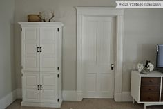 TRIM & MOULDING Wall color Classic Gray Benjamin Moore our vintage home love